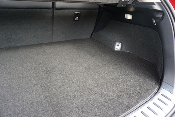 Vauxhall Corsa D E Models 2006-on Fully Tailored Deluxe Boot Mat in Black