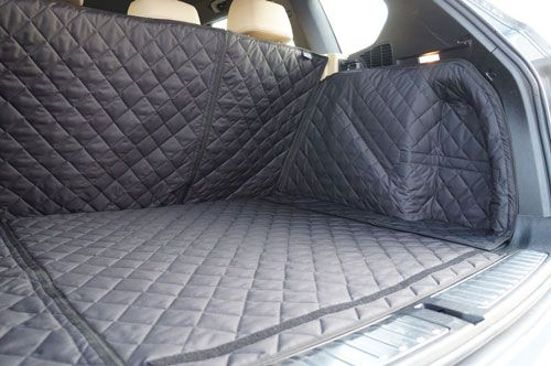 Quilt Thick Boot Cover Guard Liner Protector Pet For Audi Q7 2015 On
