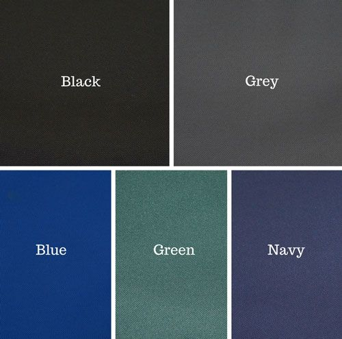 Heavy Duty Material Colour Examples