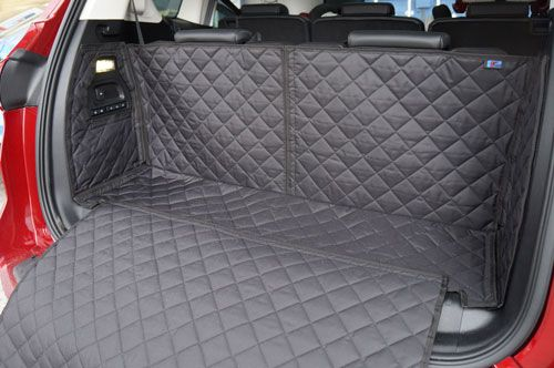 Ford S Max Quilted Boot Liner With Removable Bumper Flap