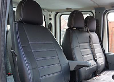 Custom Fit Leather Look Van Seat Covers