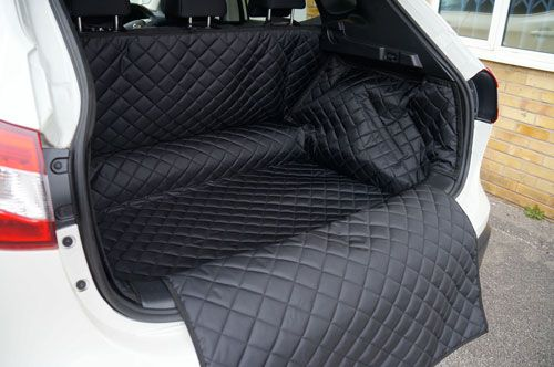 Nissan Qashqai 2014 on Boot Liner Heavy Duty Waterproof Bumper Protection